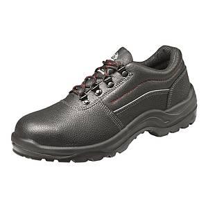 BATA BORA 鋼頭/鋼底壓花牛皮安全鞋 42碼