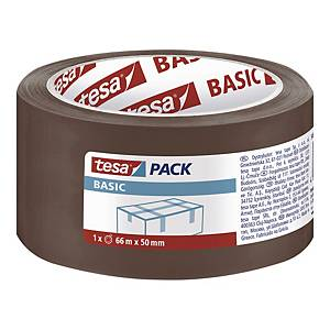 TESA 58571 PACK TAPE PP 50MMX66M BROWN