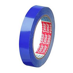 Cinta adhesiva para bolsas Tesa - 12 mm x 66 m - azul