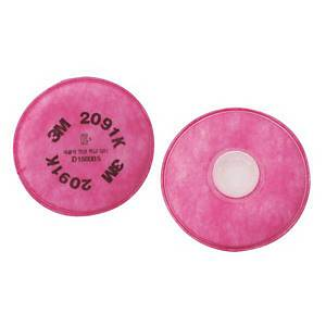 PK2 3M 2091 P100 MASK FILTER