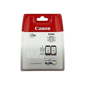 Canon PG-545/Cl-546 Inkjet Cartridge B/C/M/Y
