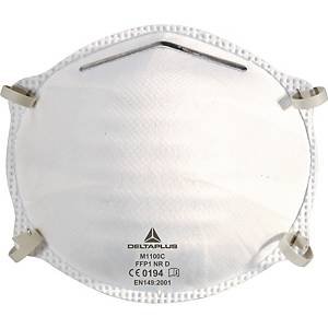 Delta Plus M1100C respiratory masks FFP1 without valve - box of 20