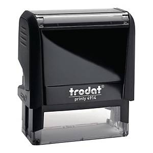 Trodat Printy 4914 stamp - 64 x 26mm