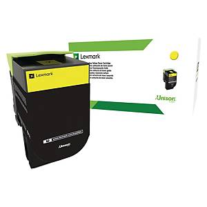Lexmark 80C2HYE Corporate Toner CX410 Yellow