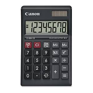 CANON Ls-88Hi Iii Pocket Calculator 8 Digits Black