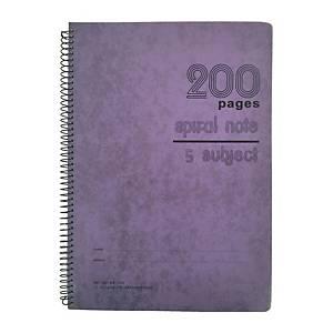 Data Base 1101 單行筆記簿 - 每本100張紙