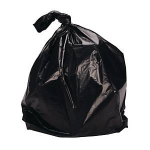 Sekoplas Robot Waste Bags 74X90CM Black - Pack of 30