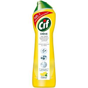 Crème Citron Cif, bouteille de 500 ml, ph 11,0