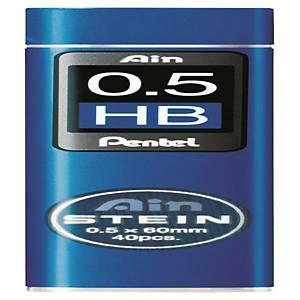 펜텔 PENTEL 아인슈타인 C275 샤프심 HB 0.5mm 40본입 (10개 구매시 갑구성)