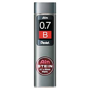 Mine B Pentel 0,7 mm in dispenser - conf. 40