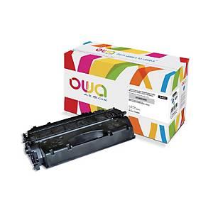 Cartouche de toner Owa compatible équivalent HP CF280X - noire