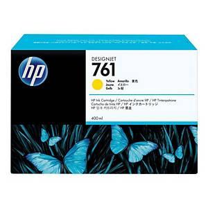 Cartouche d encre HP 761 - CM992A - jaune