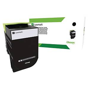Lexmark 80C2HKE Black 4K HY Laser Toner