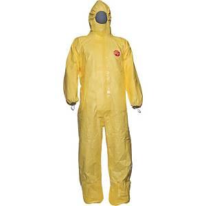 Einwegschutzanzug Dupont Tychem C, Typ 3-B/4-B/5-B/6-B, Größe: M, gelb