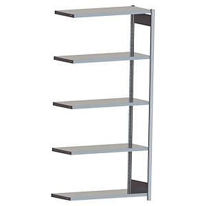 Rayonnage galvanisé Prospace - 5 niveaux - 200 x 97 x 60 cm - élément suivant