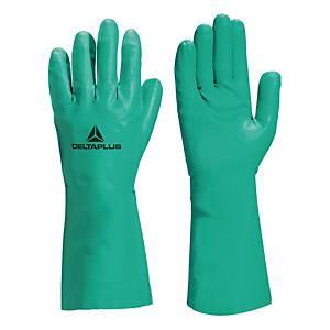 Guanti protezione chimica Deltaplus Nitrex VE802 tg 10/11