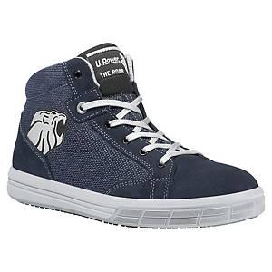 Chaussures de sécurité montantes Upower Caravan S1P - bleues - pointure 45