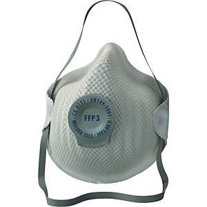 Atemschutzmaske Moldex 255501, Typ: FFP3, mit Ventil, 20 Stück