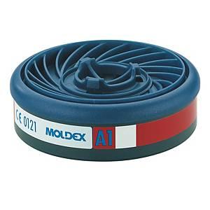 Filtri gas e vapori semimaschere A1 Moldex 9100 serie 7000 / 9000 - conf. 10