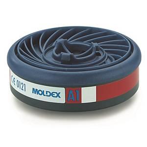 Filtre à gaz Moldex Easylock 9100 pour les séries 7000 et 9000, A1, les 10