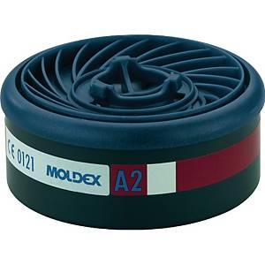 Gasfilter Moldex EasyLock 920001, Typ A2, 8 Stück