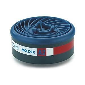 Filtri gas e vapori A2 Moldex 9200 per semimaschere serie 7000/9000 - conf. 8