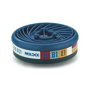 Filtri gas e vapori semimaschere ABE1 Moldex 9300 serie 7000 / 9000 - conf. 10
