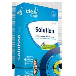 Ciel solution 2015 - 4 logiciels