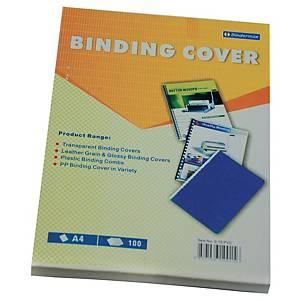 Bindermax PVC Clear A4 Binding Cover 0.15mm - Box of 100