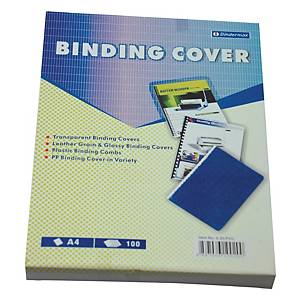 Bindermax PVC Clear A4 Binding Cover 0.2mm - Box of 100