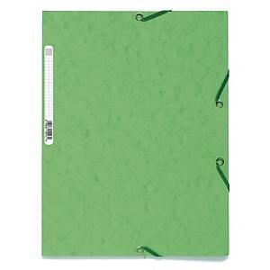 EXACOMPTA 3-FLAP FOLDER A4 SOFT GREEN