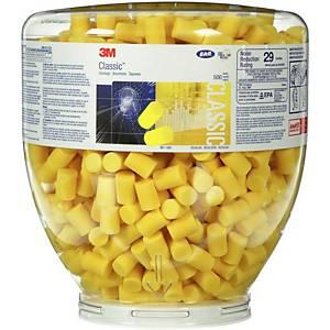 Zátkové chrániče sluchu 3M™ PD-01-001 v plastovém obalu E-A-R Classic, 500 párů