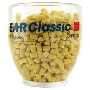 Inserti auricolari monouso 3M E-A-R™ Classic in boccione – ricarica 500 paia