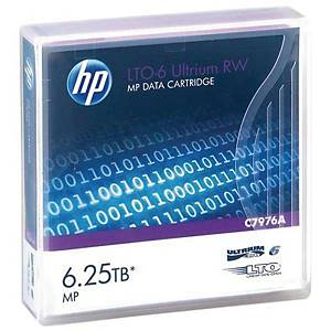 HP C7976A LT06 Ultrium Data Cartridge 6.25 Tb