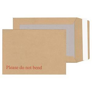 Lyreco Board-Back Manilla Envelopes C5 P/S 115gsm - Pack Of 125