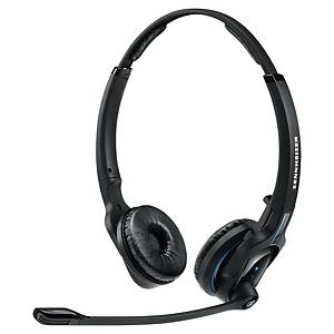 Sennheiser Headset MB PRO 2 UC, Sprechzeit bis zu 15 Stunden, zweiöhrig