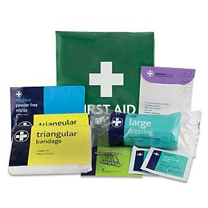 First Aid Compact Travel Pouch