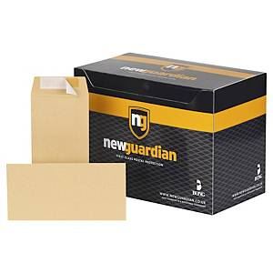 New Guardian Manilla DL Self Seal Plain Envelopes 115gsm - Box of 500
