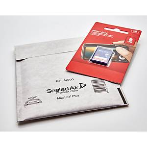 Mail Lite Plus Bubble Lined Postal Bags A/000 110 X 160mm - Box of 100