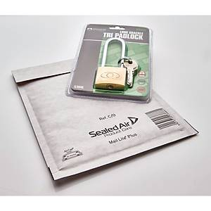 Mail Lite Plus Bubble Lined Postal Bags C/0 150 X 210mm - Box of 100