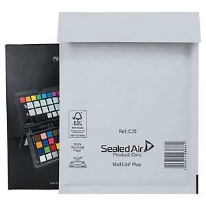 MAIL LITE PLUS POSTAL BAGS 150 X 210MM (6 X 8 1/4INCH) - BOX OF 100