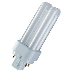 Ampoule fluocompacte tubulaire Osram Dulux - 26 W - culot G24q-3
