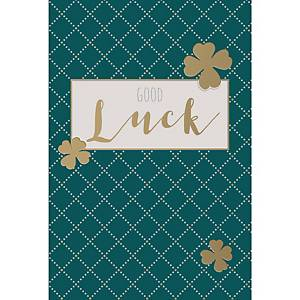 Greeting cards good luck - pack of 6