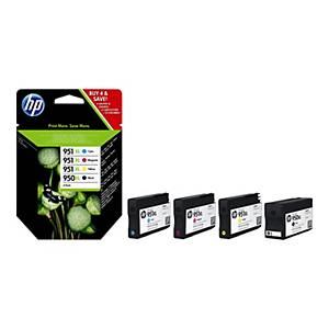 HP 950XL/951XL (C2P43AE) inkt cartridge, zwart/kleuren, hoge capaciteit