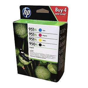 HP inkoustová kazeta 950XL/951XL (C2P43AE), 4barevná Č/C/M/Ž