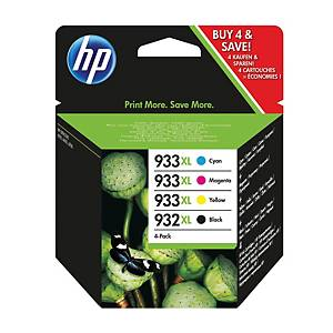 HP tintasugaras nyomtató patron 932XL/933XL (C2P42AE) 4-szinű F/C/M/S