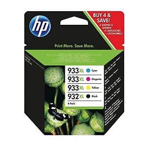 HP atramentová kazeta 932XL/933XL (C2P42AE) 4-farebná Č/C/M/Ž