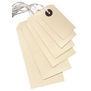 String Tags 108 X 52mm With 9Inch White String - Box of 1000