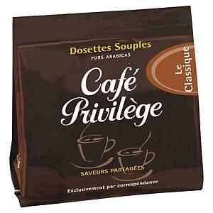 Café Privilège Classique - paquet de 18 dosettes