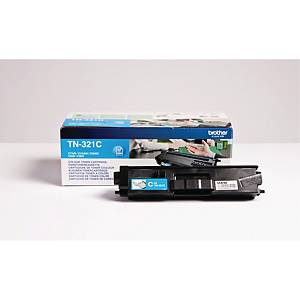 Lasertoner Brother TN321C, 1.500 sider, cyan